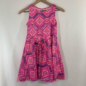 Justice size 10 dress / Colorful